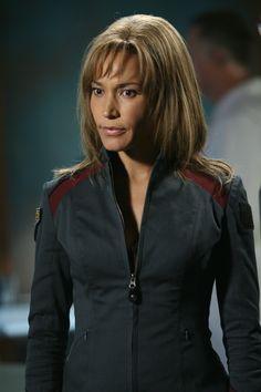 Teyla Emmagan (Rachel Luttrell) in Stargate - Atlantis