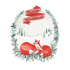 Greeting Cards - Christmas Cards - Felicity French Illustration