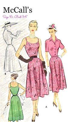 50's Around-the-Clock Dress Jacket Sewing by KeepsakesStudio
