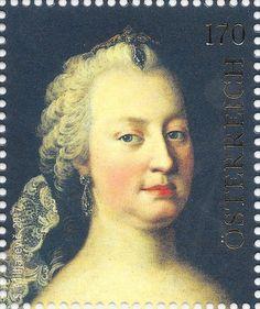 birthday of Empress Maria Theresia Postage Stamps, Austria, Famous People, Mona Lisa, Marvel, Gallery, Artwork, Birthday, Portraits