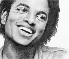 Michael Jackson by drawingyourattention
