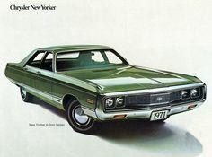 1971 Chrysler New Yorker 4 Door Sedan