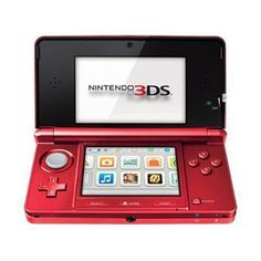 Nintendo 3DS Flame Red « Game Searches
