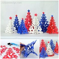 How to DIY Paper Star Christmas Tree | www.FabArtDIY.com LIKE Us on Facebook ==> https://www.facebook.com/FabArtDIY