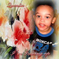 my beautiful grandson
