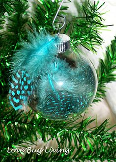 12 ways to personalize glass ornaments
