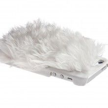 Carcasa Ion Factory iPhone 5 5S - Monster Fur Cover Snow White $25.521,90