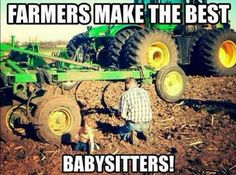 I remember riding in the tractor all day with my uncles when my parents were busy Real Country Girls, Country Girl Life, Cute N Country, Country Girl Quotes, Country Farm, Girl Sayings, Country Living, Country Music, Farm Jokes