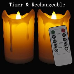 [Rechargeable] Flameless Candles LAPROBING® Set of 2 LED ... http://www.amazon.com/dp/B01A5PQV0W/ref=cm_sw_r_pi_dp_-eeuxb093XJGH