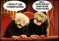 Stadler & Waldorf ~ About younger women!