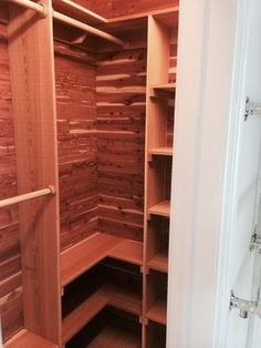 Cedar Storage Closets Design Ideas Pictures Remodel And Decor