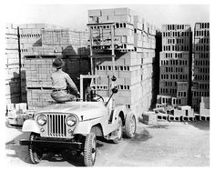 Some call their #forklift a #Jeep, was this the source?