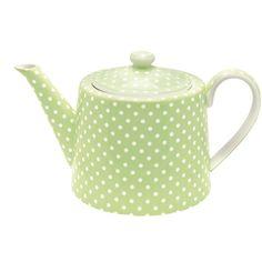 Super cute AND spotty tea pot!!