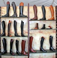 Handcrafted in Ecuador, La Mundial offers an array of custom-made riding boots.