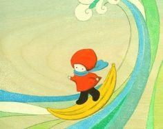 Banana Surfing