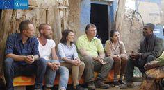 Clara Villalón cocina en Etiopía con la ONU