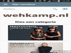 Mijn Warenhuis  Android App - playslack.com ,  Met deze app heb je de hele wehkamp.nl winkel binnen handbereik. Door de streepjesscanner en de zoeksuggesties vind je wat je zoekt met zo min mogelijk typwerk. Met de app reken je je aankopen veilig en vertrouwd af via wehkamp.nl's site zelf.Features:- Blader door top-lijstjes in diverse categorieën- Zoek op titel, trefwoord, artiest. Met zoeksuggesties- Scannen (met Google Goggles of Zxing barcodescanner)- Product informatie met-- Uitgebreide…