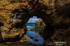 The Grotto - Great Ocean Road #victoria #australia #nationalpark #landscape #seascape #ocean #greatoceanroad #stone #rockformation #reflection #coast #coastline #12apostles #scenic #drive #tourist by mato.graphy