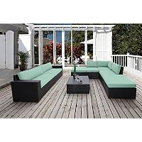 Bloomington 8 Pc. Conversation Modular Sectional Seating Set with Premium Sunbrella® Fabric - Sam's Club