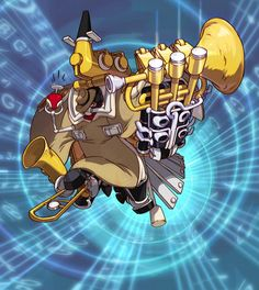 Before the Labor Day weekend, check out this awesome #Skullgirls Big Band action shot! Have a musical Labor Day Weekend!!  pic via Twitter @Kim Ford