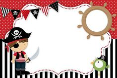 Pirate Day, Pirate Birthday, Pirate Theme, Pirate Invitations, Birthday Invitations, Pirate Activities, Pirate Crafts, Party Decoration, Childrens Party