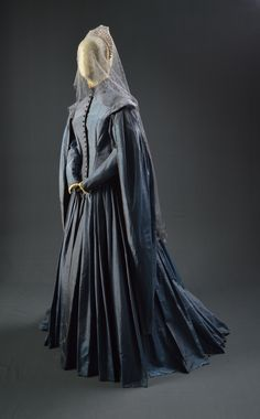 "Anne Parillaud, ""Man in The Iron Mask,"" MGM/UA, 1998, Designed by James Acheson, The Collection of Motion Picture Costume Design: Larry McQueen"