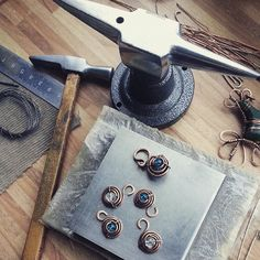 Work :) #workshop #wirewrap #wire