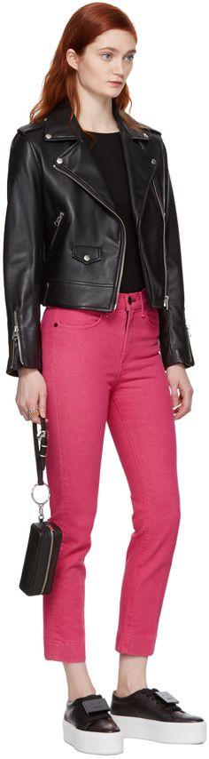 Mackage - Black Baya Moto Leather Jacket