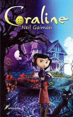 """EL LIBRO DEL DÍA     """"Coraline"""", de Neil Gaiman  http://www.quelibroleo.com/coraline 5-9-2012"""