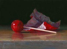 Lisa Procious  Tootsie Pop - Red Redux  2012