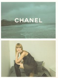 Angela Lindvall by Karl Lagerfeld for Chanel FW 2001