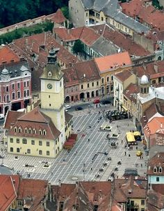 Old Main Square Kronstadt -Brasov, Romania Brasov Romania, Republic Of Macedonia, Bosnia And Herzegovina, Albania, Montenegro, Croatia, Big Ben, Cities, Greece