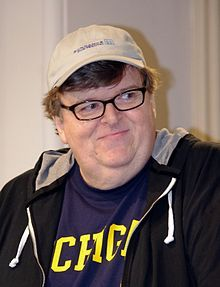 Michael Moore, documentary filmmaker and nonfiction writer, known for Stupid White Men (born in Flint, Michigan)