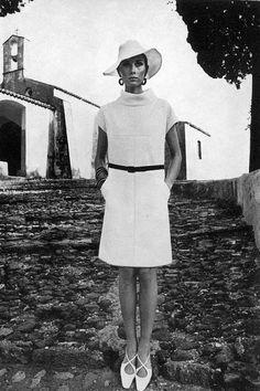 Maude Adams | Dior dress | Roger Vivier Shoes