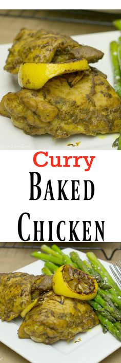 A flavorful entree of chicken marinated in a curry base and baked to perfection. An alternative to the Caribbean curry chicken.