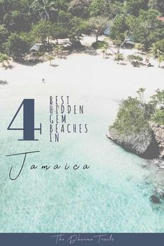 There are hidden gem beaches in Jamaica rich in culture, beautiful aesthetic and reggae vibes. Find out where to avoid the tourist traps and check out the real Jamaican, local favorites. From Montego Bay to Kingston, these four gems will have you covered. | #jamaica #travelguide #beautifulbeaches