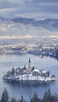 weza:   Lake Bled, Slovenia