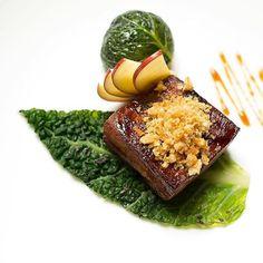 Stunning glazed pork belly off the new A la Carte menu! #stunning #newmenu #summer