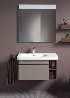 Aufsatz-Waschbecken / rechteckig / integrierter Waschtischplatte DURASTYLE: #232580 by Matteo Thun DURAVIT
