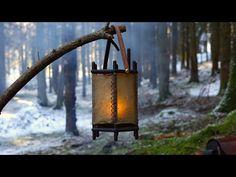 Viking Hall, Bushcraft, Larp, Creative Inspiration, Bird Feeders, Vikings, Lanterns, Outdoor Decor, Leather