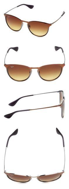 71a04a6e7f874  102.61 - Ray-Ban Metal Unisex Sunglasses - Shot Brown Metallic Frame Brown  Gradient Lenses