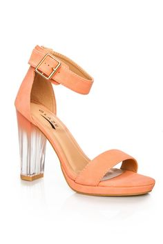 ShopSosie Style : Evanescence Sandal in Peach