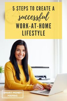 Creating a successful work at home lifestyle sounds good but it isn't easy! Read our 5 steps and tips to set yourself for success while working from home, without burning yourself out or losing your work Make More Money, Make Money From Home, Extra Money, Make Money Online, Work Family, Money Tips, Money Hacks, Work From Home Tips, Make It Work
