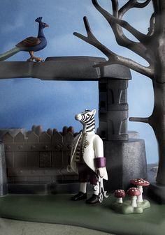 Playmobil custome Zebra Gate Keeper.