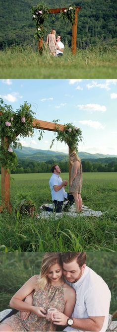 Everything about this proposal is so perfect, and he had a hidden photographer capturing every moment! Everything about this proposal is so perfect, and he had a hidden photographer capturing every moment! Country Proposal Ideas, Cute Proposal Ideas, Proposal Photos, Perfect Proposal, The Knot, Wedding Proposals, Marriage Proposals, Engagement Couple, Engagement Pictures