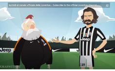 Il cartone animato di Natale: JUVENTUS SANTA CLAUS... (Video tutto da vedere) #juventus #cartoneanimato #natale