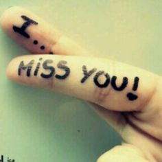 miss you beib
