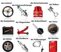 Deutsch lernen German Grammar, German Words, Learn German, Learn English, German Resources, Deutsch Language, Medical Mnemonics, German Language Learning, Perfect Resume