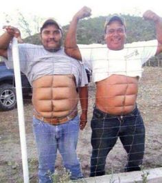 Six-pack Abs just in seconds…