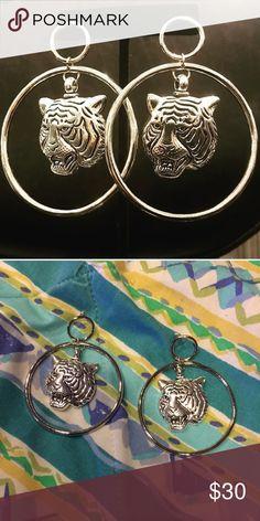 Vanessa Mooney Latifah Silver Hoops NWOT Vanessa Mooney Jewelry Earrings